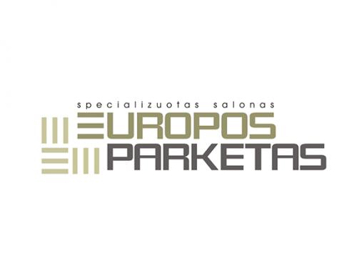 """LOGOTIPO SUKŪRIMAS MEDINĖS GRINDYS IR PARKETAS UAB """"EUROPOS PARKETAS"""""""