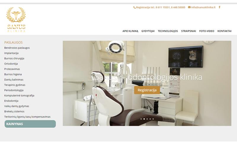 dizaino-kurimas-svetainems-sanus-klinika