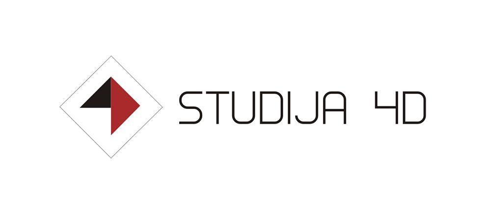 """LOGOTIPO SUKŪRIMAS IT PASLAUGOS - """"STUDIJA 4D"""""""