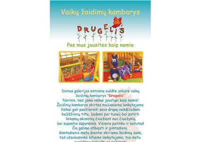 """SKRAJUTĖS DIZAINO KŪRIMAS II – VAIKŲ KAMBARYS """"DRUGELIS"""""""